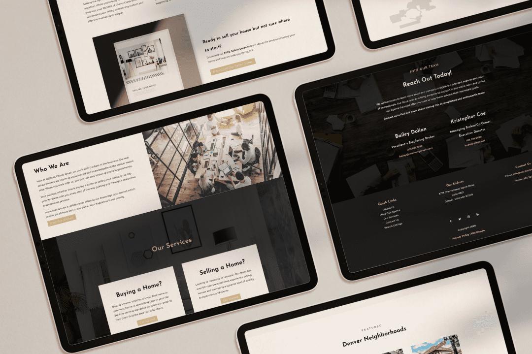 RE/MAX Cherry Creak Custom Website Design