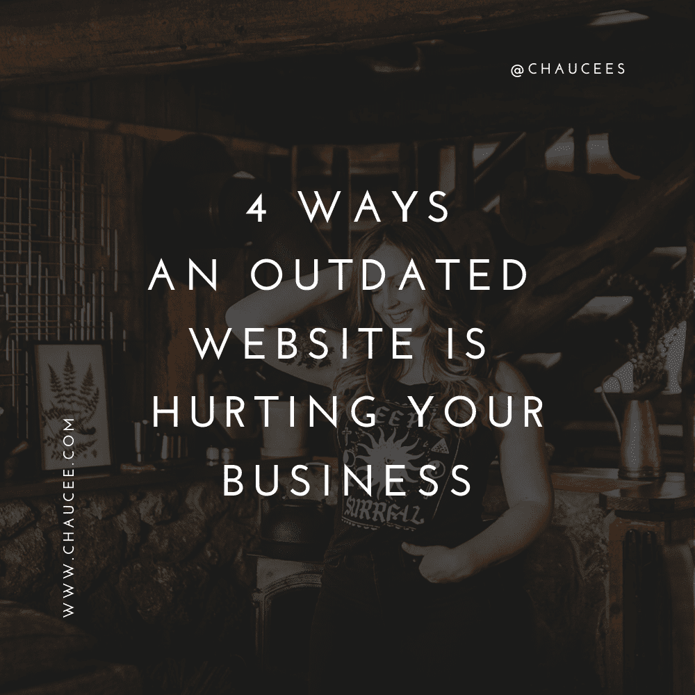 How an outdated website could hurt your business
