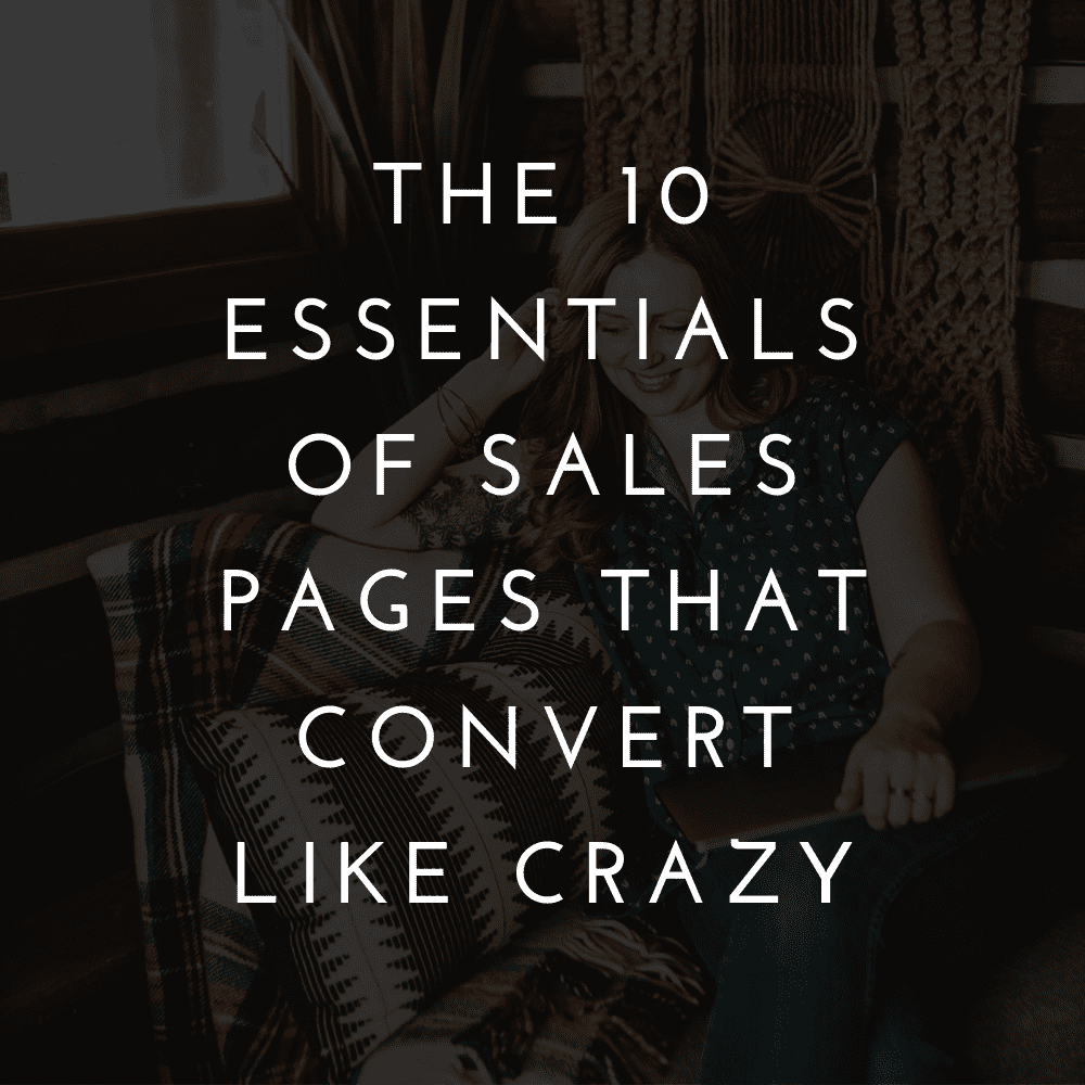 How to write high-converting sales pages