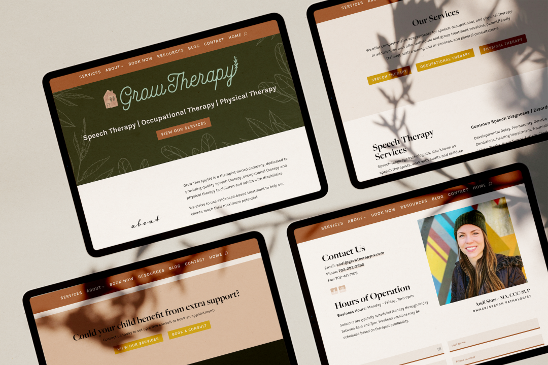 Grow Therapy Website Design