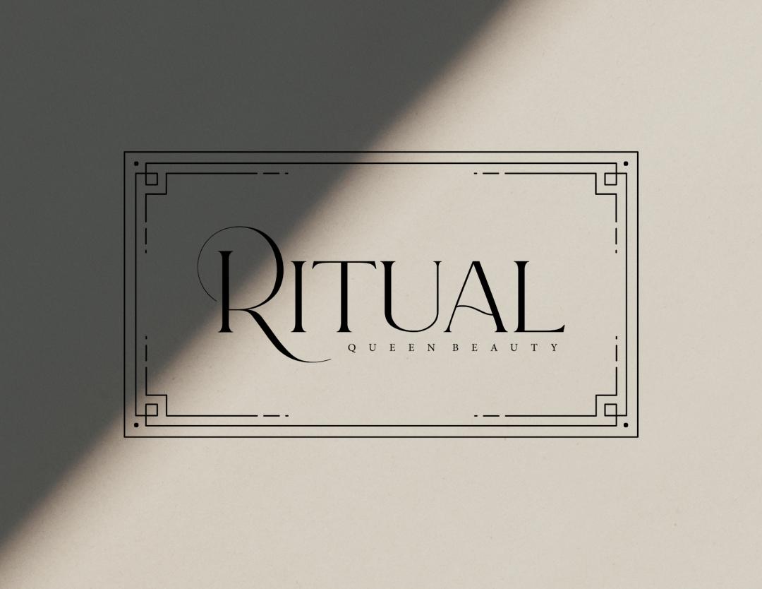 Ritual Queen Beauty Logo Design