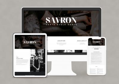 Savron The Great Website Design