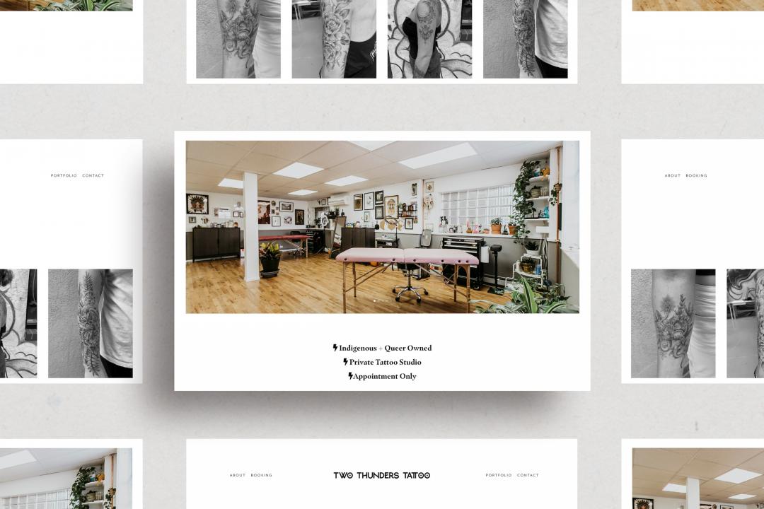 Two Thunders Custom Website Design | Denver, Colorado
