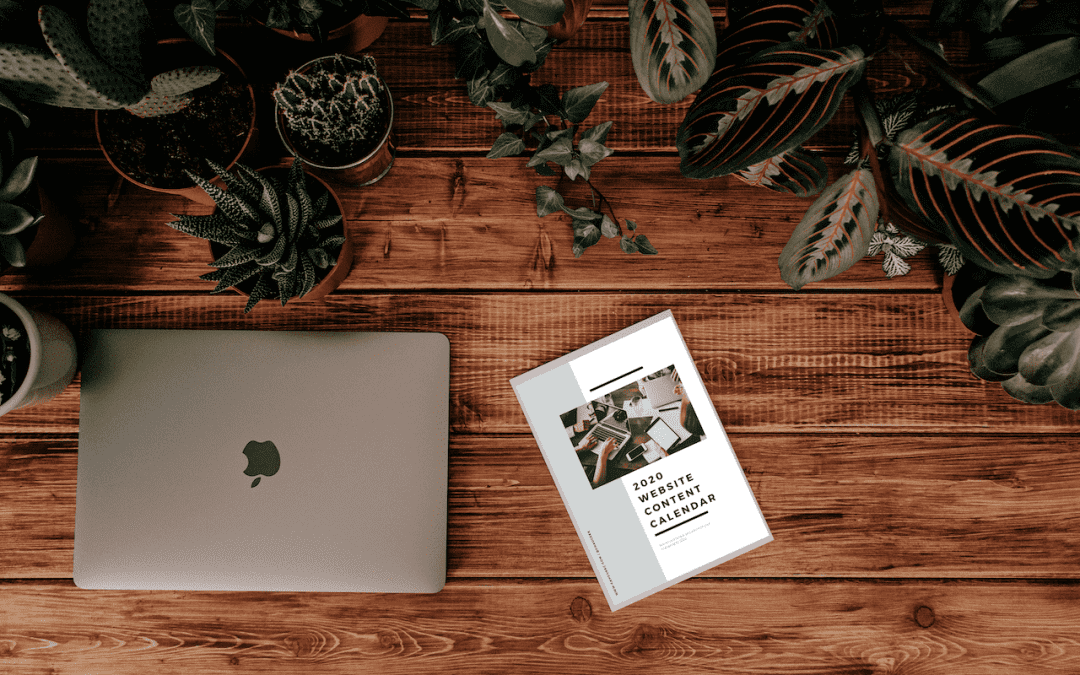 How to Create Consistent Content for Your Website + Free Planner