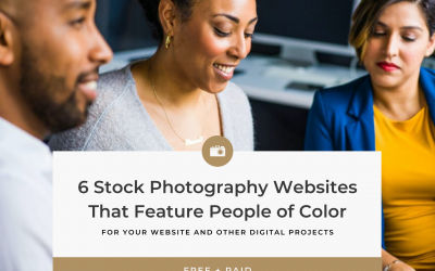 6 Stock Photography Websites That Feature People Of Color